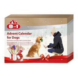 8in1 Advent JuleKalender Til Din Hund