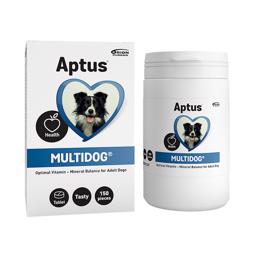 APTUS MultiDog Tabletter 150 stk Vitamin og Mineraler For En Sund Hund