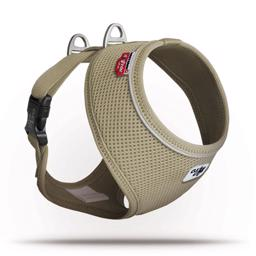 Curli Basic Hundesele Air Mesh Beige Tan