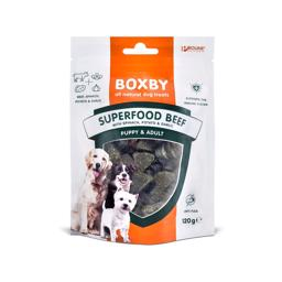 Boxby Kornfri Godbidder Superfood Beef 120gr