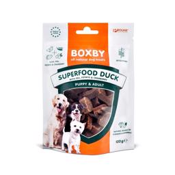 Boxby Kornfri Godbidder Superfood Duck 120gr