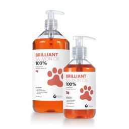 Hofseth Brilliant Salmon Oil 100% Frisk Lakse Olie Omega