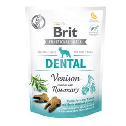 Brit Functional Snack Dental Venison og Rosemary 150 gram