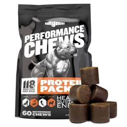 Bully Max Performance Soft Chews Godbidder med Protein og Vitaminer
