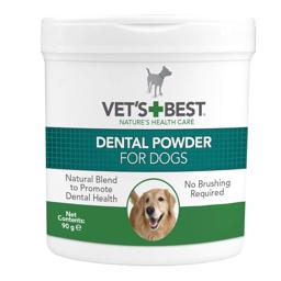 Vets Best Dental Powder For Dogs Tandpleje Pulver 90gram