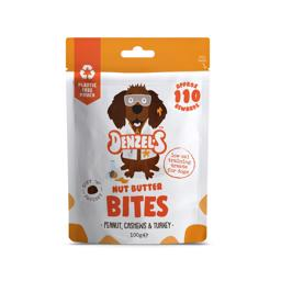 Denzel High Protein Bites Peanut Cashews & Kalkun SuperFood 100g