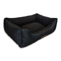 The Dogissimo Monaco Sofa Hundeseng Black in Black