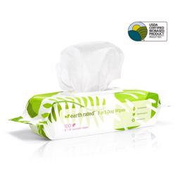 Earth Rated Eco Friendly Wipes Lavendel 100 stk Hundens Klud
