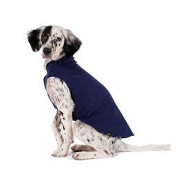 GoldPaw Hunde Fleece Stretch Pullover Navy Blue