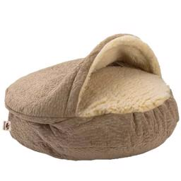 SnooZer Cozy Cave Piston Sand Luxury Microsuede