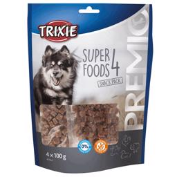 Trixie Premio 4 Meat SuperFoods 4 x 100 gram Multipack