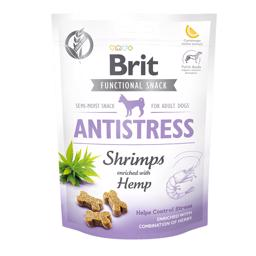 Brit Functional Snack Antistress Shrimps og Hemp 150 gram