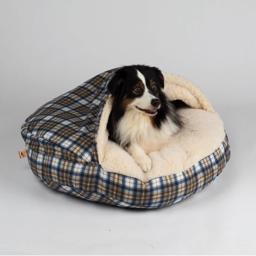 SnooZer Cozy Cave REGULAR Design Blue Plaid