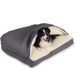 SnooZer Cozy Cave Hundehule Rectangle Version Heather Grey