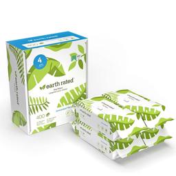 Earth Rated Eco Friendly Wipes Neutral MEGAPACK 400 stk