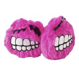 Rogz Plush Fluffy Grinz Rosa Mini 2 Pack Til Katte