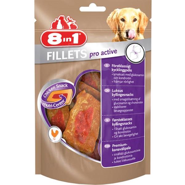 8in1 Fillets Pro Active Beriget Snack