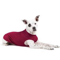 GoldPaw Hunde Fleece Stretch Pullover Garnet