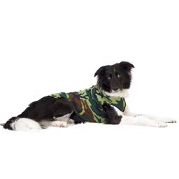 GoldPaw Hunde Fleece Stretch Pullover Camouflage