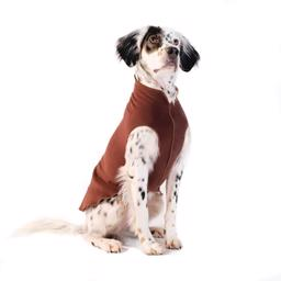 Hunde Fleece GoldPaw Stretch Pullover ChestNut Brown
