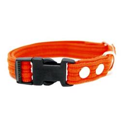 Fenriz Webbing Halsbånd ORANGE