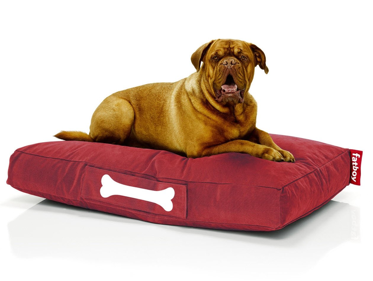 fatboy doggielounger stonewashed red large. Black Bedroom Furniture Sets. Home Design Ideas