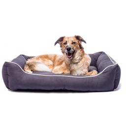 Dog Gone Smart Lounger Bed farve PEBBLE GREY