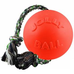 Original Jolly Ball Punkterfri Gummi med Reb