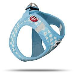 Hundesele Air-Mesh Puppy Skyblue Circles