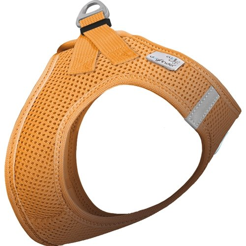 Sele til Hund Curli Design Air Mesh Orange