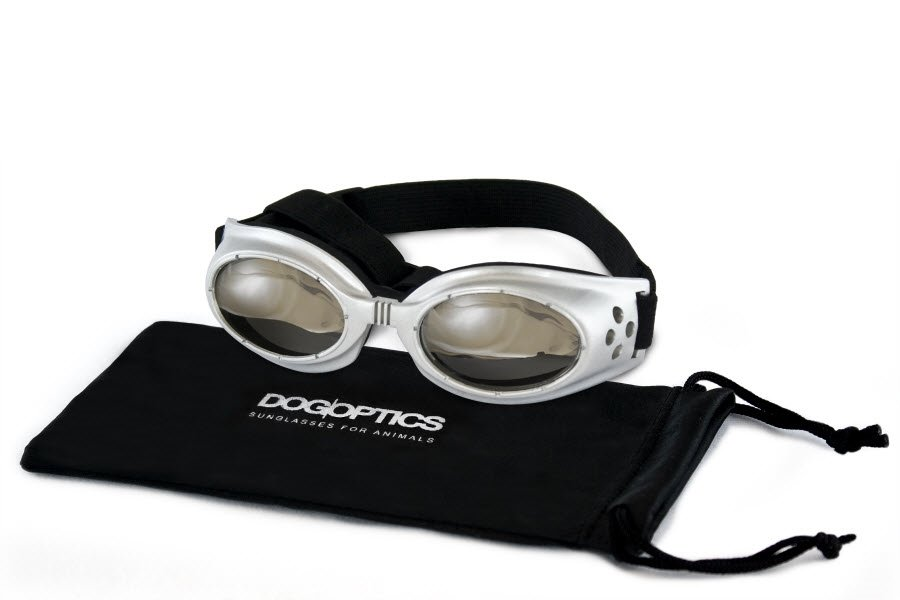 acbc2b275 Hunde Solbriller Ibiza Sølv Stel Spejl Glas