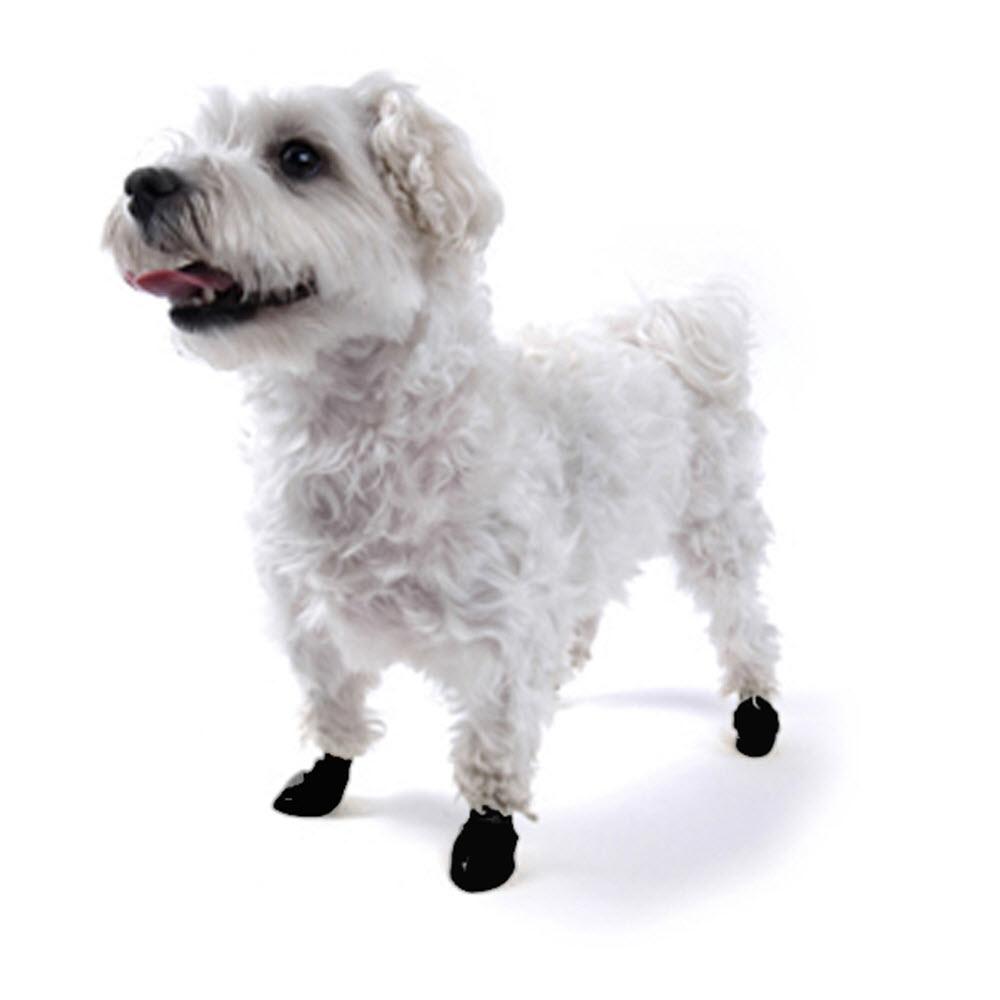 de9122e0110 Hundesko i plast gummi i alle størrelser sorte