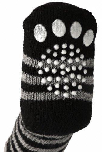 Strålende Skridsikre Sokker til Hund sort/grå WK-33