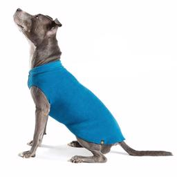 GoldPaw Hunde Fleece Stretch Pullover Marine