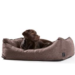 Hunter Hundesofa Design Boston Brun En Sand Klassiker