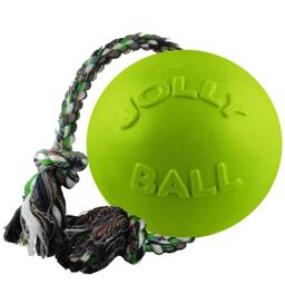 Jolly Ball Romp-N-Roll med Reb Farven Apple Green