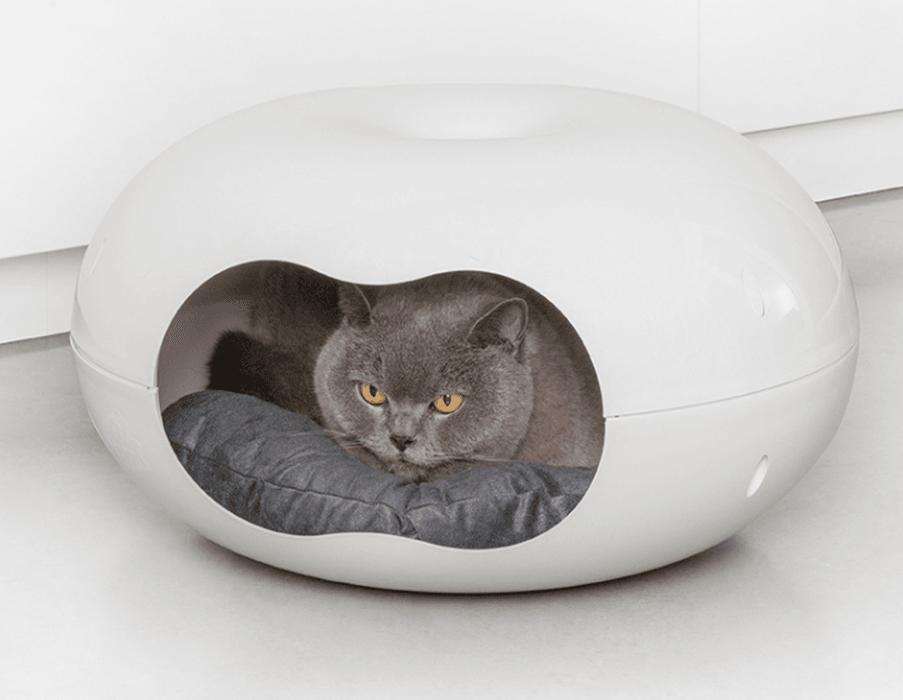 katte seng Katteseng Donut til den forkælede kat katte seng