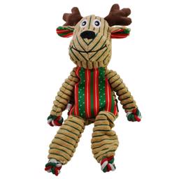 Kong Holiday Floppy Knots Reindeer 36cm God Jul