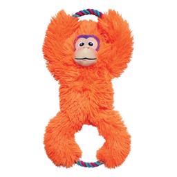 KONG Tuggz Monkey XL Helt Vidunderlig Orange Abekat