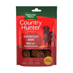 Natures Menu Superfood Bar Med Okse, Spinat og Quinoa 100gr