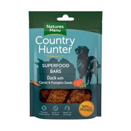 Natures Menu Superfood Bar Med And, Gulerod og Græskar 100gr