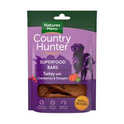 Natures Menu Superfood Bar Med Kalkun, Tranebær og Græskar 100gr