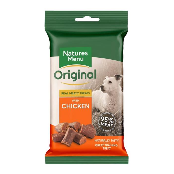 Natures Menu Original BARF Bites Chicken 95% Kød NEW