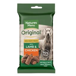 Natures Menu Original BARF Bites Lamb 95% Kød NEW