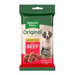 Natures Menu Original BARF Bites Beef 95% Kød NEW
