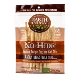 Earth Animal No-Hide Stix Dog and Cat Venison 10 Pack