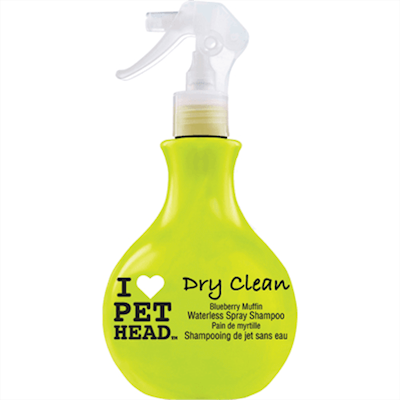 Pet Head Spray Hunde Shampoo DRY CLEAN Blueberry Muffin
