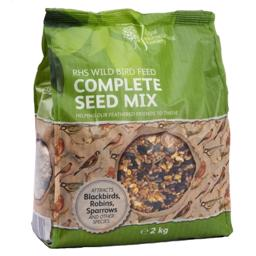 RHS Wild Bird Feed Complete Seed Mix 2kg