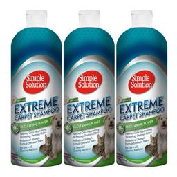 Simple Solution Extreme Tæppe Shampoo MegaPack 3 stk