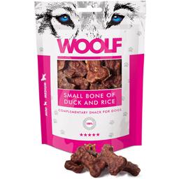 Woolf Small Bone Of Duck And Rice 100g